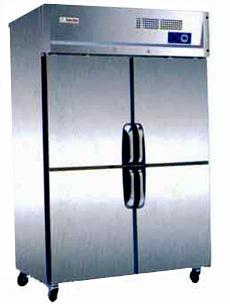 低温四封门冰箱